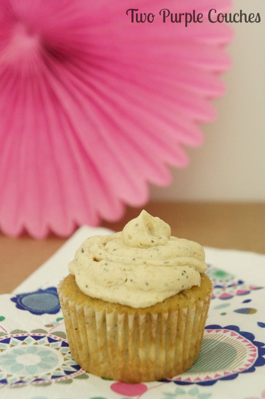 Delicious chai latte cupcakes and a virtual party!