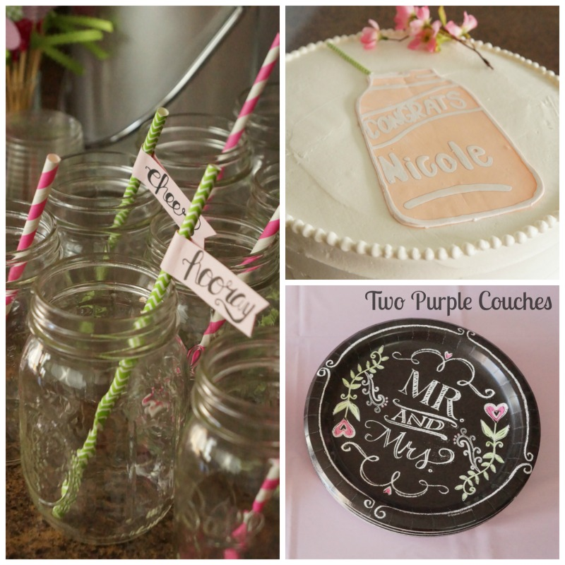 Garden Party Themed Spring Bridal Shower