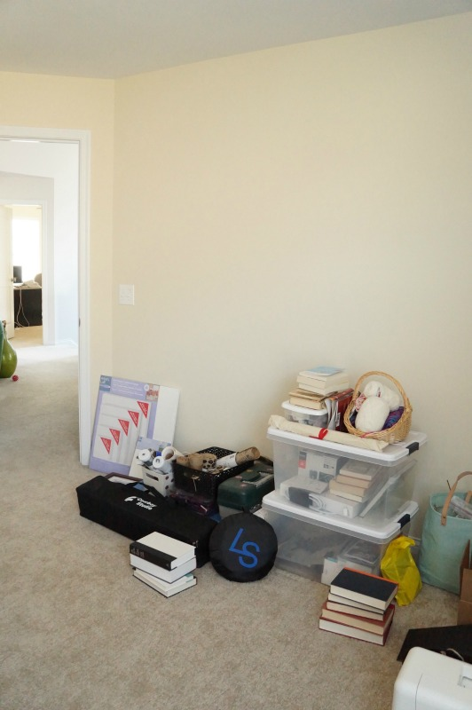 One Room Challenge: Craft Room Makeover - Before