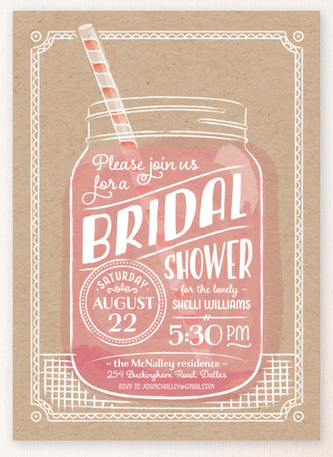 Summer Sippin Invitation from Minted.com
