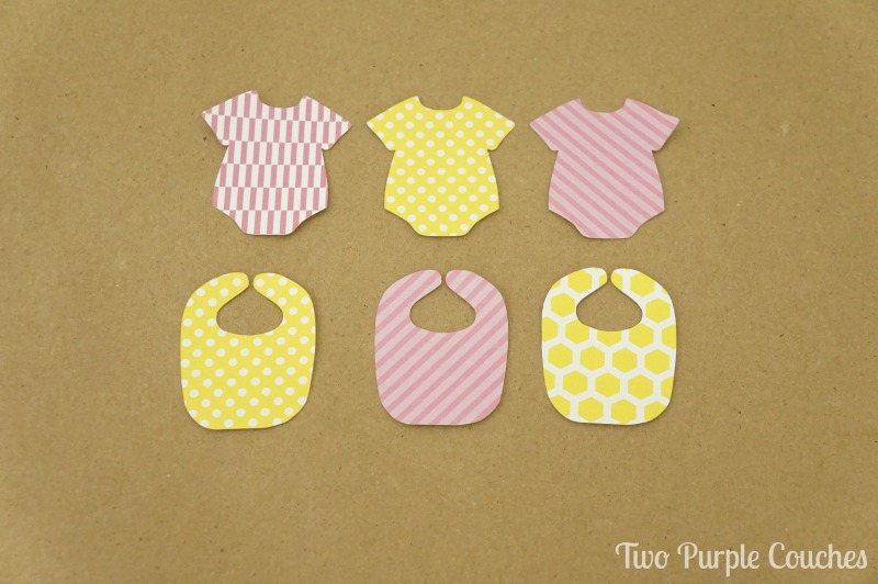 baby shower cupcake toppers idea