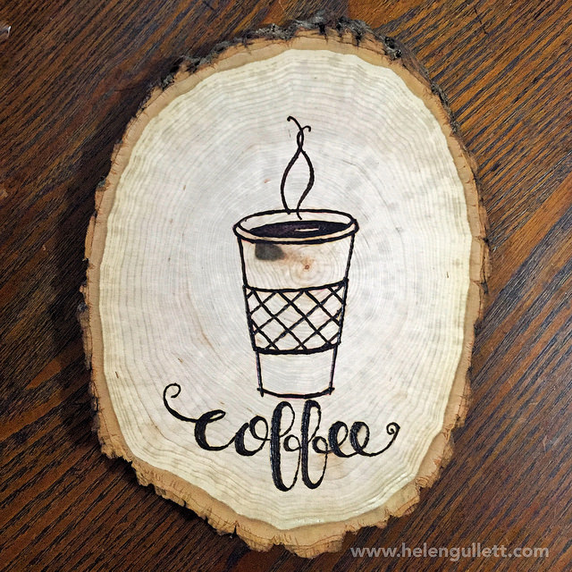 coffee-wood-slice-art