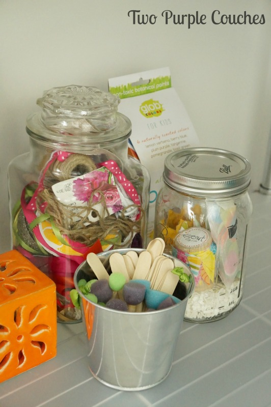 Ideas and tips for organizing and storing your craft supplies
