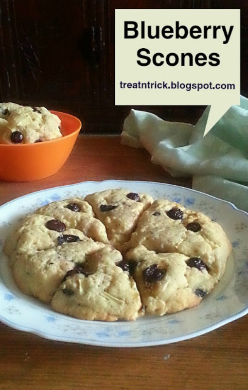 Blueberry Scones from Treat n Trick