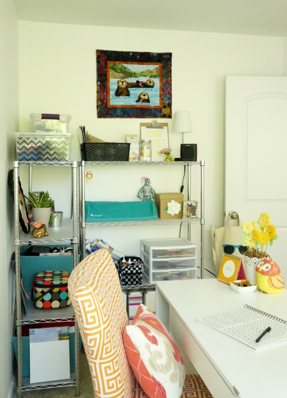 One Room Challenge Spring 2016: Craft Room Makeover Reveal