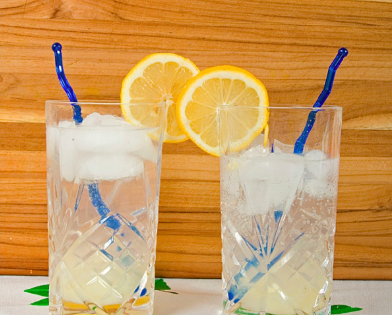 Refreshing Ginger Lemonade Recipe featured in Simply Summer Recipes Blogger Cookbook from Wayfair