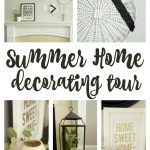 Summer Home Decorating Ideas - tribal meets modern