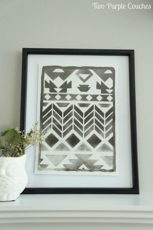 Summer Home Tour - vintage meets tribal in this home's summer decor