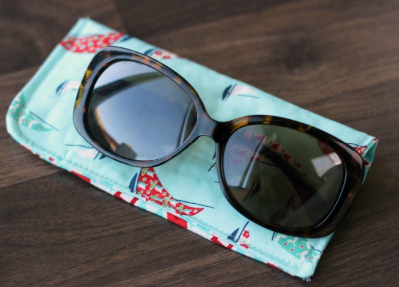 DIY Sunglasses Case from Gluesticks