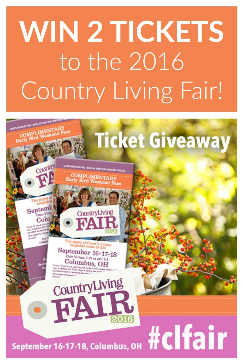 Country living fair 2016 ticket giveaway two purple couches for Country living sweepstakes april 2016