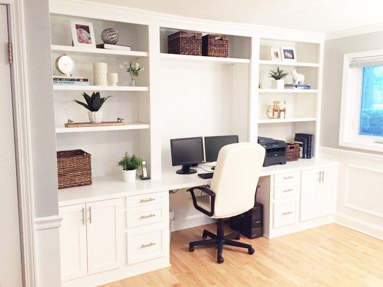 Built-In Desk from The Cofran Home