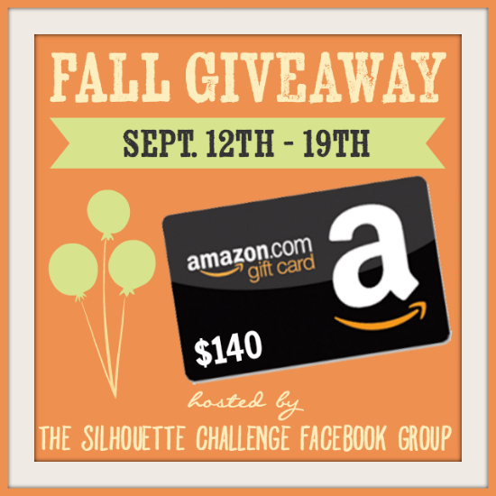 Fall Silhouette Challenge Giveaway