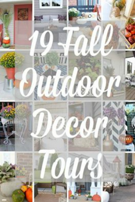 Fall Outdoor Decor and Garden Tours hosted by Lehman Lane