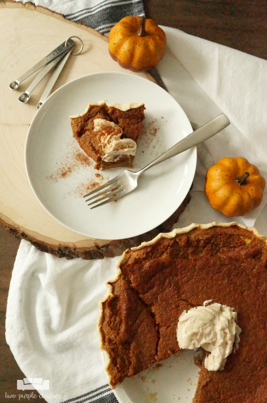 My grandma's pumpkin pie recipe is like nothing you've ever had — It's light and moist, with an airy meringue-like texture.