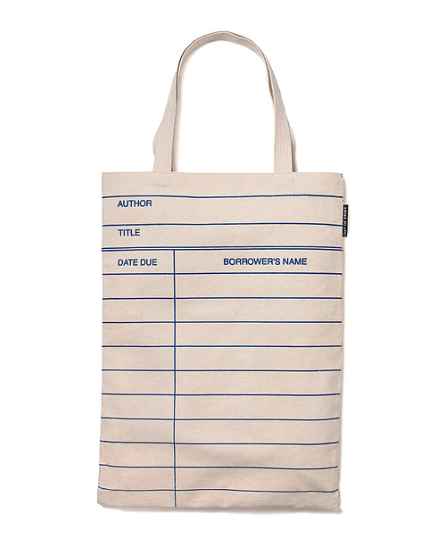 Library Tote Bag from Uncommon Goods