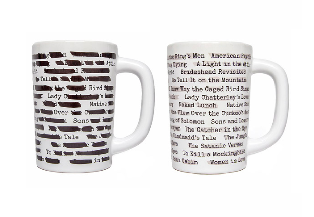 Banned Books Morph Mugs from Uncommon Goods