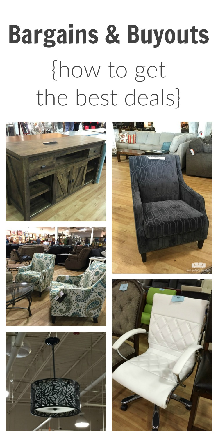 How to find incredible deals on any type of furniture you're looking for at Bargains & Buyouts in Cincinnati, Ohio. Read on to get the inside scoop!