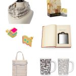 Gift Ideas for Book Lovers - the best gifts from Uncommon Goods, perfect for the literary lovers in your life!