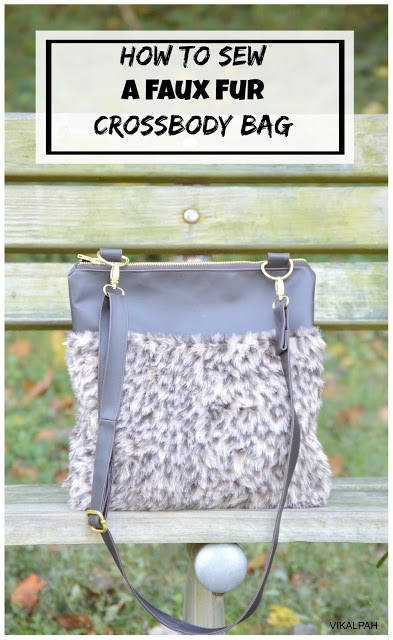 how-to-sew-a-faux-fur-crossbody-bag