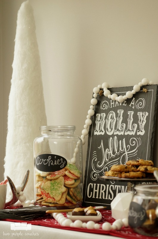 What a great idea for the holiday season! - Host a special Christmas cookie party featuring all of your favorite family recipes for holiday sweets and treats!