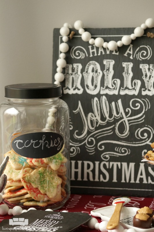 This holiday season, host a special Christmas cookie party featuring all of your favorite family recipes for Christmas cookies and sweet treats.