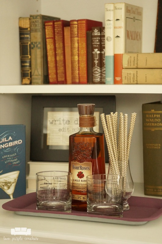 home office mini bar literary bar