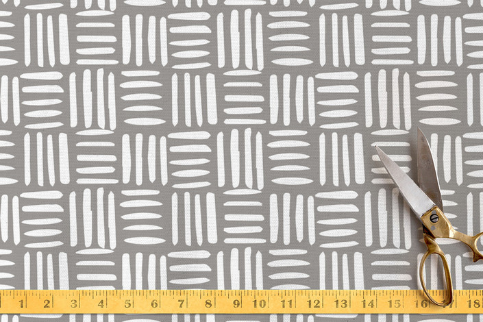 Mod Hatch Fabric from Minted / Need help selecting coordinating home decor fabrics for your room? Follow these easy tips on how to mix different prints, patterns and fabrics.