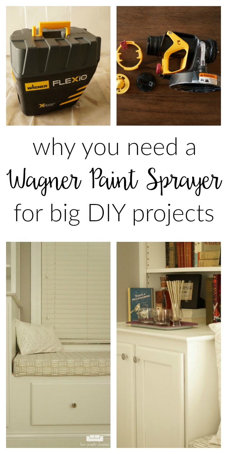 Read why you need a paint sprayer in your life, especially if you're planning a big painting project or need to paint large pieces of furniture!