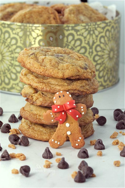 chewy-gingerbread-chocolate-chip-cookies-for-santa