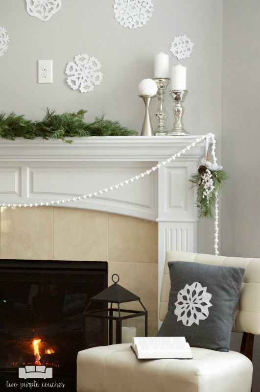 Winter Home Tour / Winter Home Decor / Ideas and tips for using a winter whites palette for decorating your home in January.