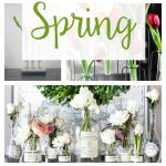 It's time to think Spring! So many beautiful floral decor ideas from centerpieces to easy DIY home decor for your living room or dining room.