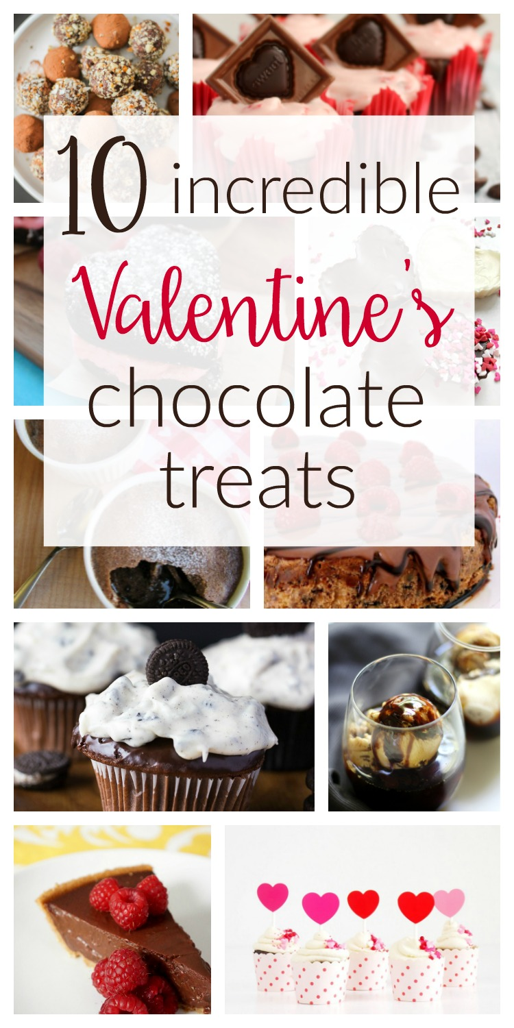 10 incredibly indulgent chocolate treats and dessert recipes / These delicious homemade sweets are perfect for Valentine's Day!