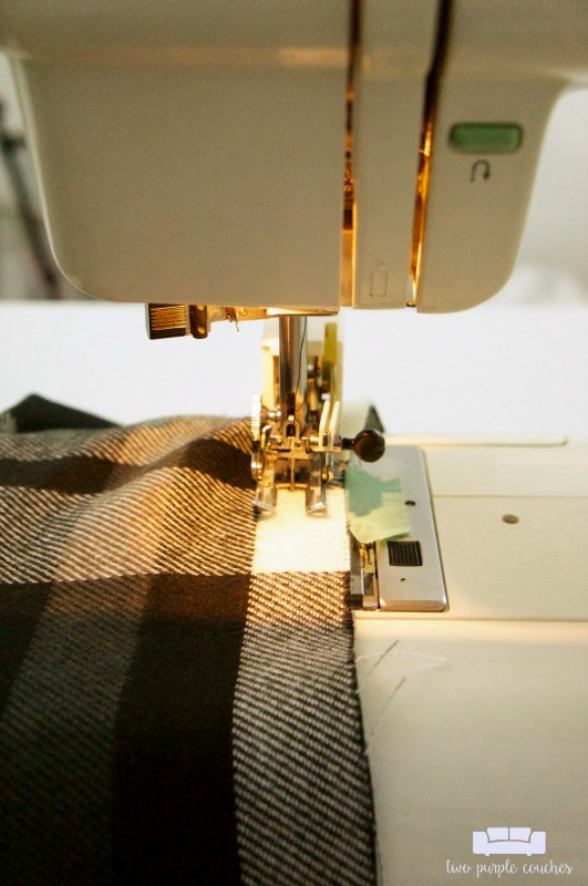How to make a blanket scarf