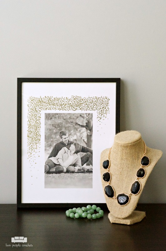 Wedding Anniversary Photo Art Ideas / Beautiful and simple art ideas for celebrating your wedding day, graduation day and other special occasions.#ad #sponsored