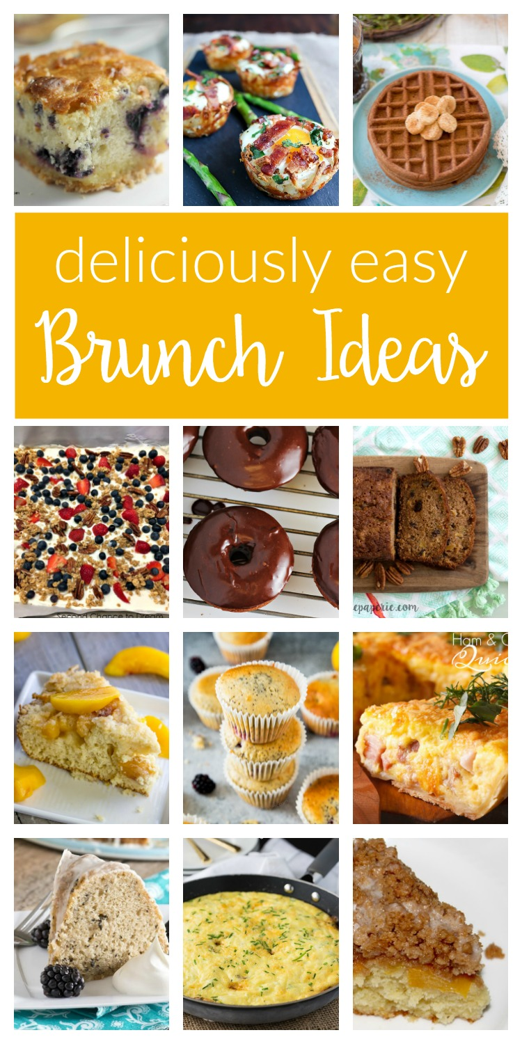 Delicious And Easy Brunch Ideas