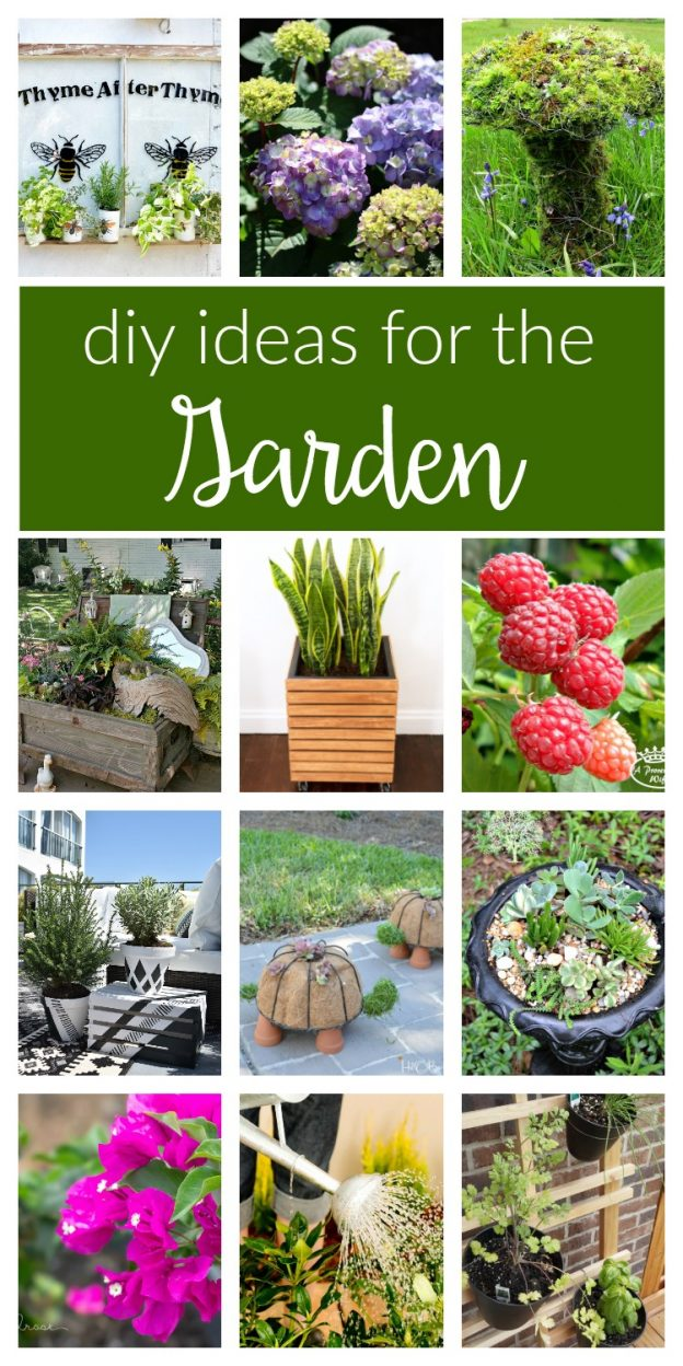 diy garden ideas easy budget friendly and creative projects and