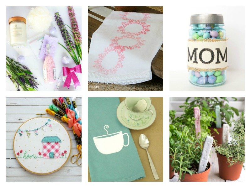 Make her Mother's Day special with a handmade gift! Check out these easy homemade DIY Mother's Day Gift Ideas - simple, last minute gift ideas for mom!
