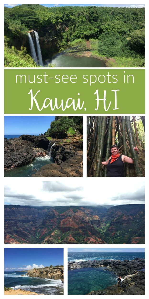 Visiting Kauai, HI soon? These are the must-see spots on Kauai! Breathtaking views, lush local scenery and fun adventures to make the most of your trip.