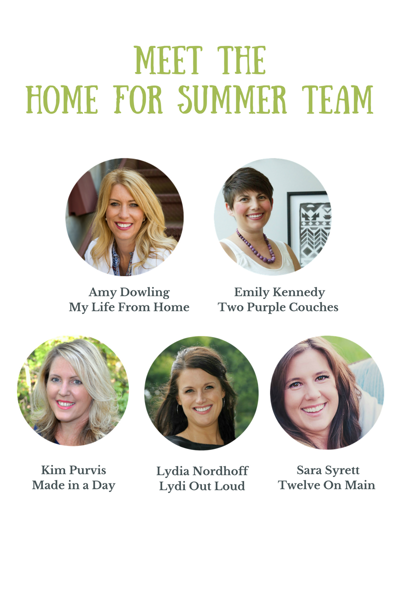 Home for Summer ebook team