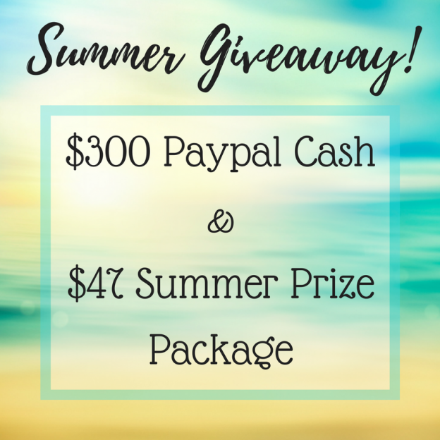 Win some extra green! Enter our spectacular Summer Giveaway now through July 5, 2017 for the chance to win $300 in Paypal cash + other prizes!