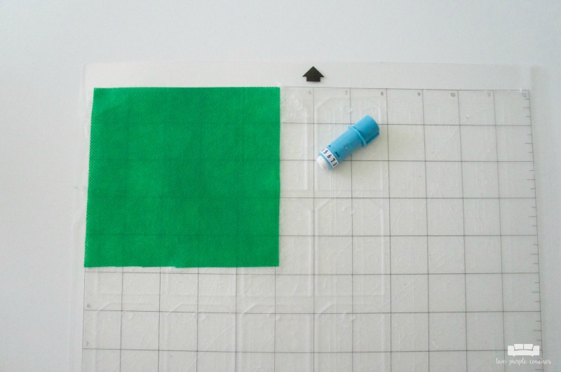 Cutting Oly*Fun craft material with a Silhouette Fabric Blade