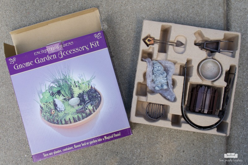 DIY fairy garden accessories kit