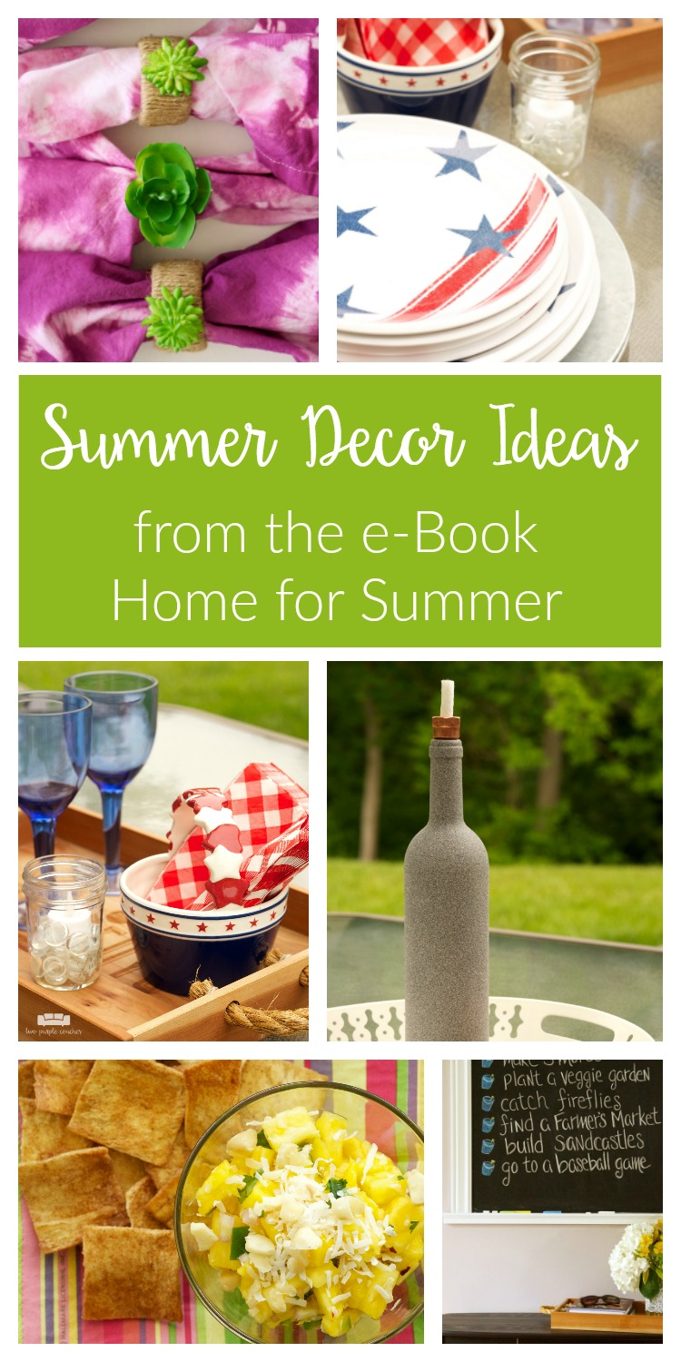 Find summer inspiration at your fingertips! Home for Summer is packed with ideas and inspiration to help you turn your home into a fun and relaxing retreat.