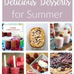 Delicious and easy summer desserts ideas. From strawberry pie to fruit crisps, cobblers and frozen treats, you'll want to make one of these recipes for your next BBQ or picnic.