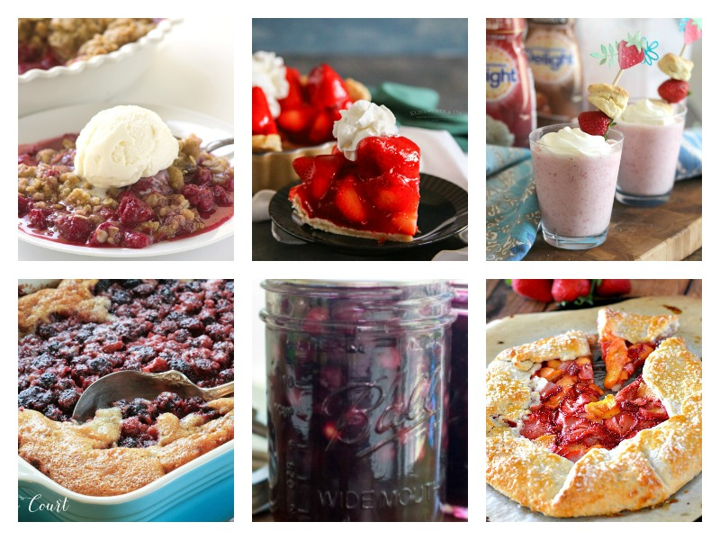 Easy summer desserts - recipes and ideas for your next BBQ or picnic.
