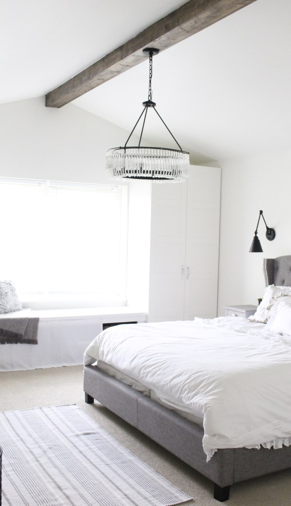 Farmhouse Master Bedroom reveal and tour