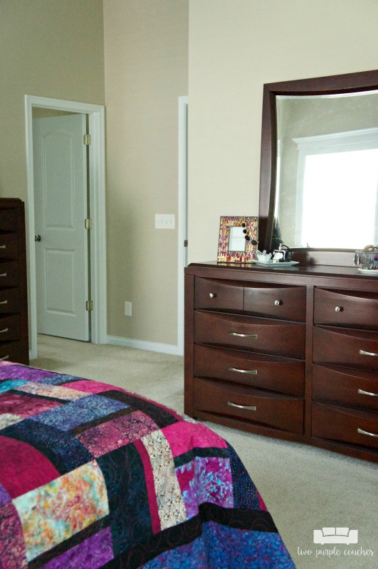 Check out our master bedroom tour!