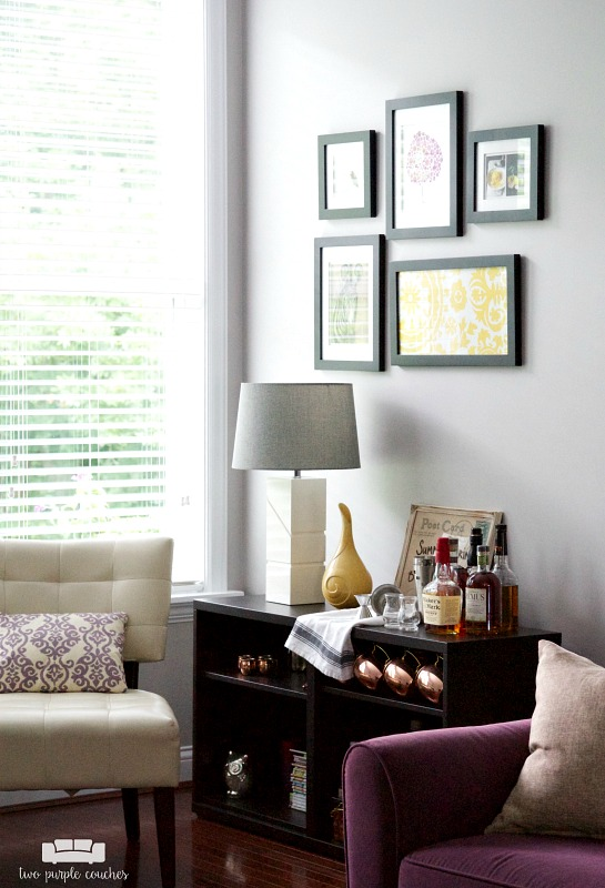 Room by Room Showcase: Summer Family Room Tour. Easy summer decorating ideas and DIY projects for a cozy family room gathering space.