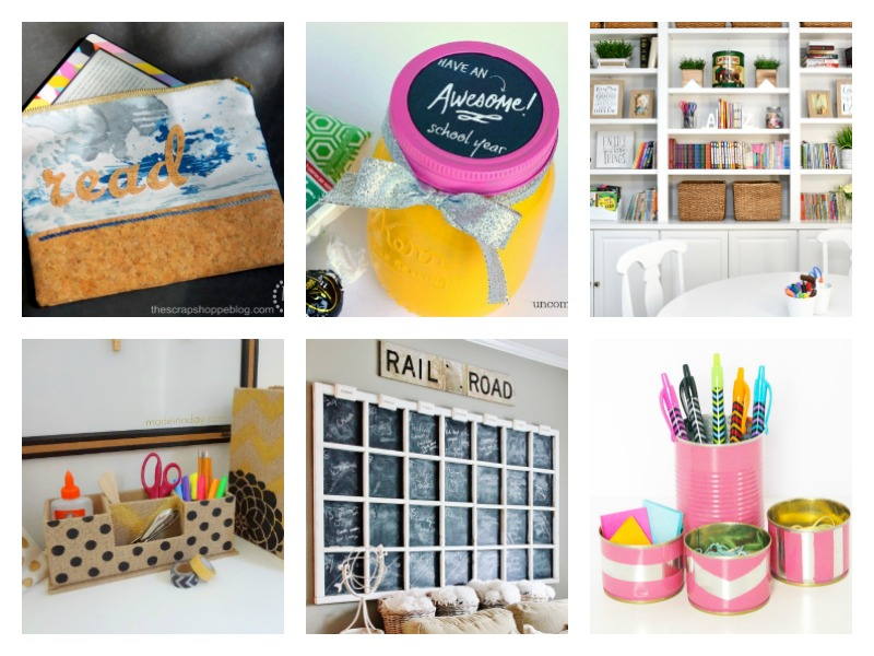 Ideas for staying organized for back to school.