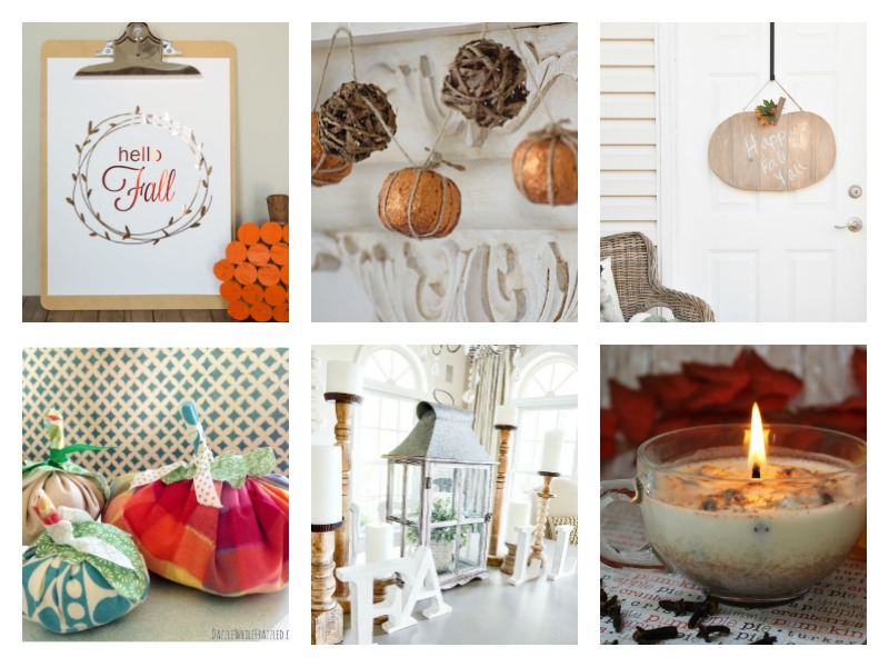 Fall Decorating Ideas - simple rustic and vintage ideas, DIYs and crafts
